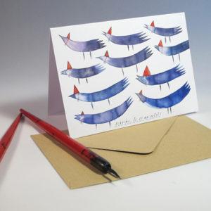 Přací karty Tereza Cerhová-Slavíme