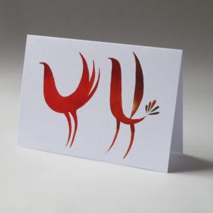 Originální přací karty Tereza Cerhová