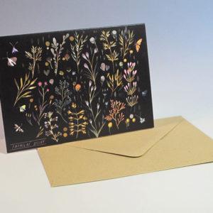 Dárková karta ilustrace Tmomilné byliny