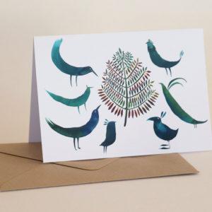 Přací karta Tereza Cerhová Vánoční setkání
