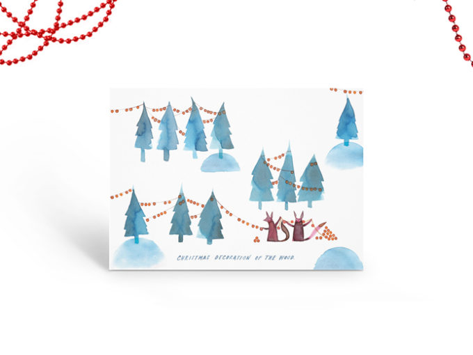 Tereza-Cerhova-gift-card-illustration-christmas-decoration