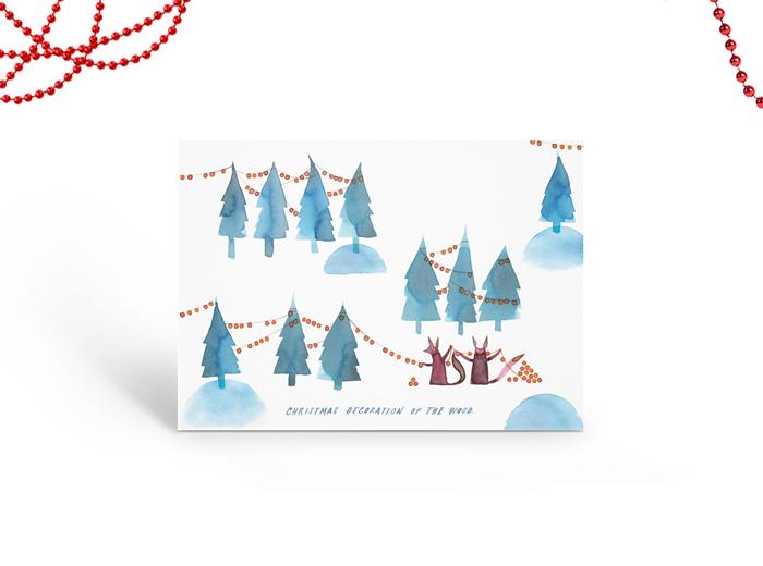 Tereza-Cerhova-gift-card-illustration-christmas-decoration