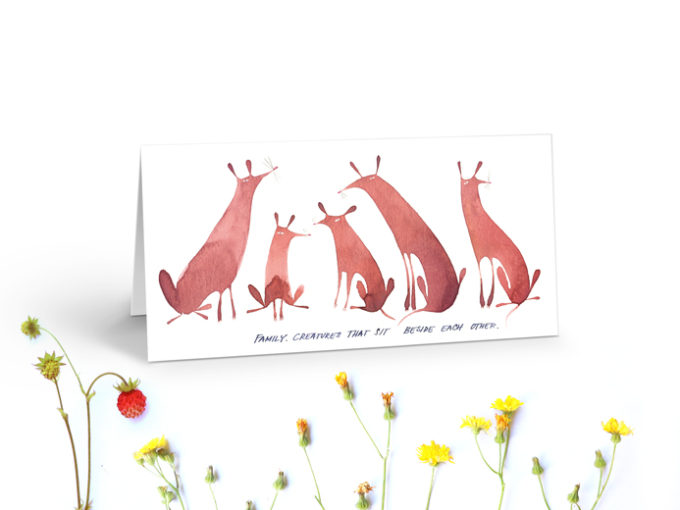 Tereza-Cerhova-greeting-card-family-creatures