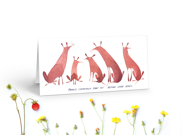 Tereza-Cerhova-greeting-card-family-creatures