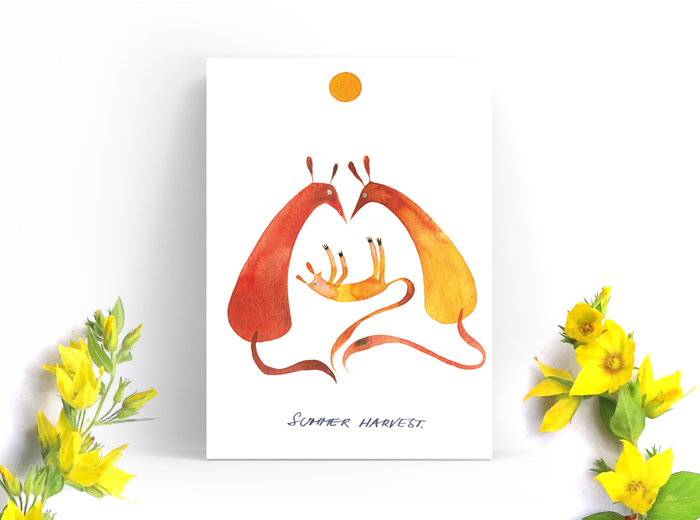 Tereza-Cerhova-greeting-card-summer-harvest