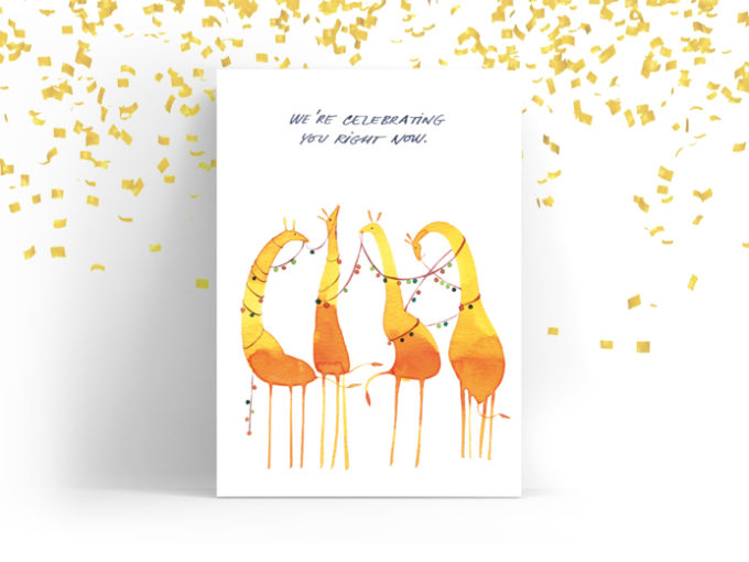 Tereza-Cerhova-greeting-card-we-are-celebrating-you-right-now
