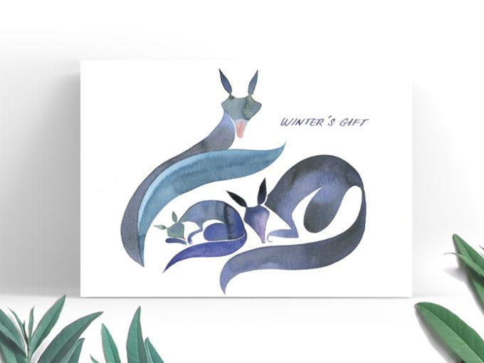 Tereza-Cerhova-greeting-card-winters-gift