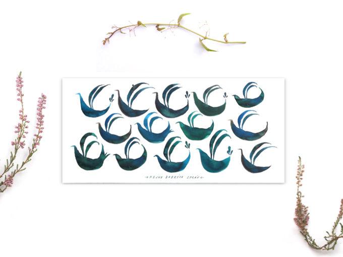 Tereza-Cerhova-ilustrovana-darkova-karta-hejno-dobrych-zprav