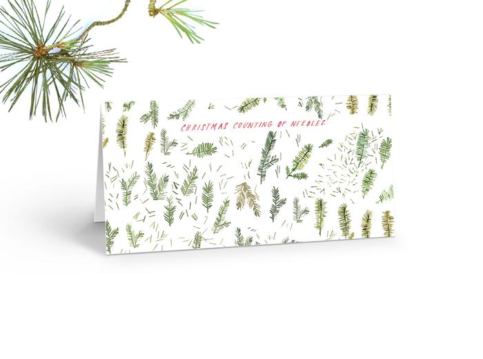Tereza-Cerhova-original-illustration-christmas-counting-of-needles