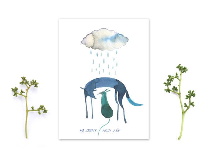 Tereza-Cerhova-originalni-ilustrace-na-smutek-nejsi-sam
