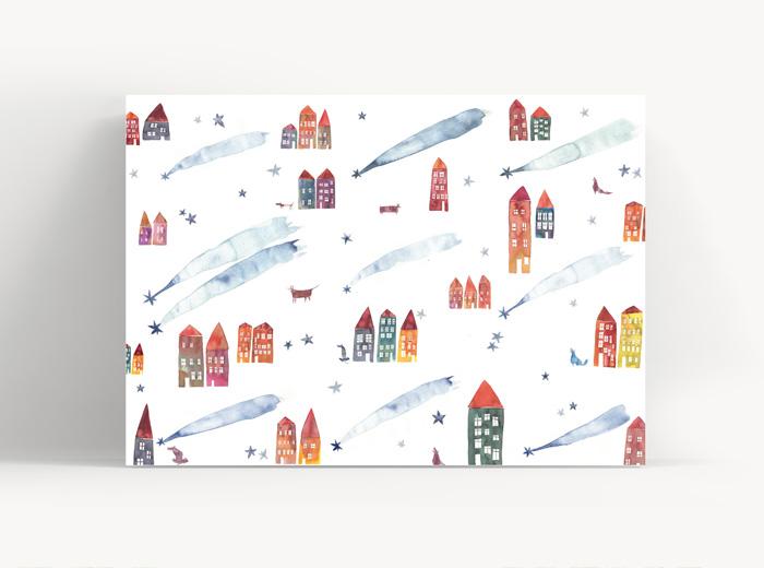 Tereza-Cerhova-originalni-ilustrace-zimni pocity